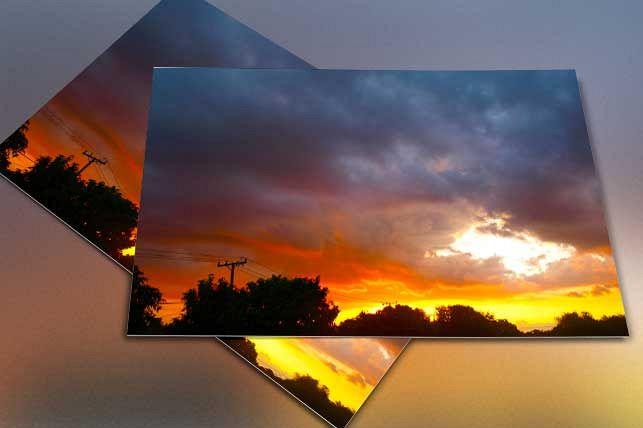 Colorful Sunset Cloud Sky