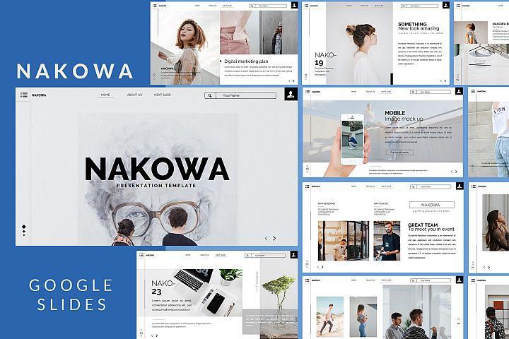 Nakowa Minimal - Google Slide Presentation