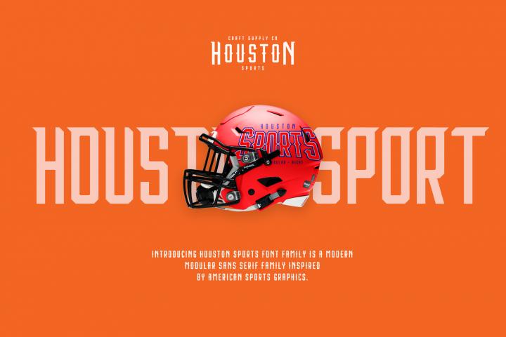 Houston Sports Font Family example image 2