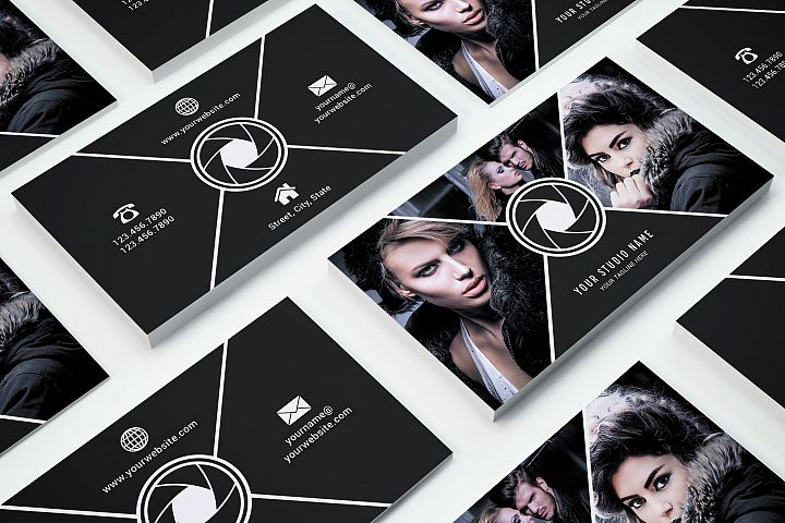 Business Card Template 017 Photoshop