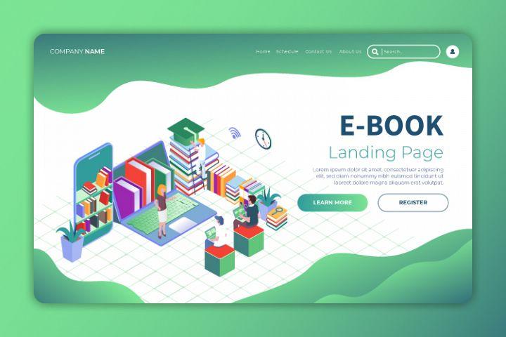 Ebook 4 - Landing Page Illustration