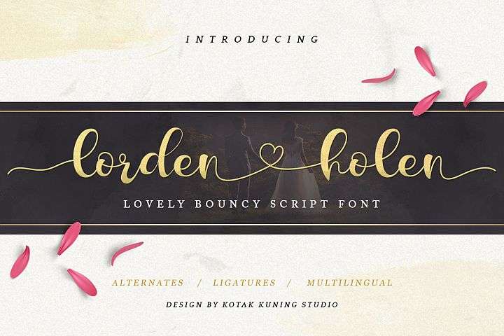 Lorden Holen Lovely Script