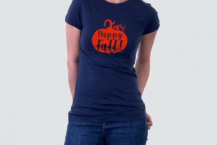 Fall SVG Happy Fall SVG Pumpkin SVG example 1