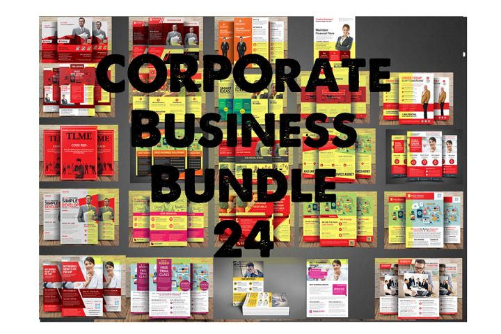 Corporate Business Bundle 1 in 24 Flyer