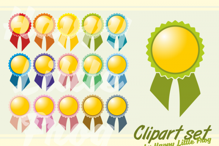 Award ribbon clipart, winner clipart, first place clipart, teaching preschool cliparts, first place ribbon print