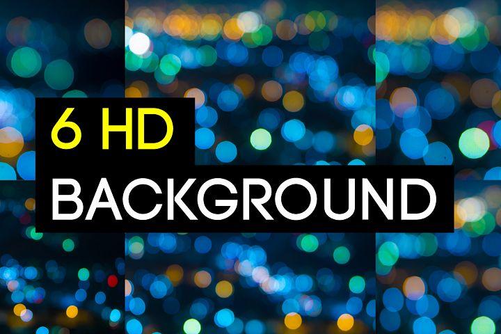 6 Bokeh Blur Background