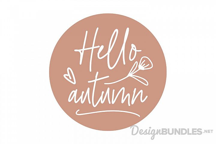 Hello Autumn example