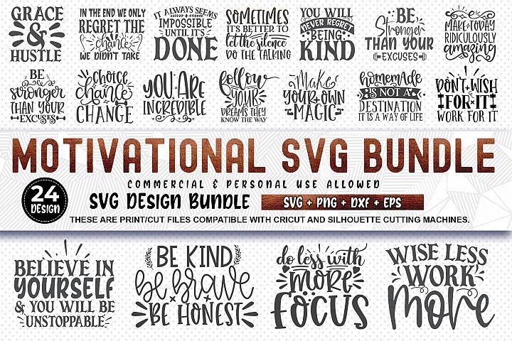 Motivational SVG Design Bundle | Inspirational SVG Bundle