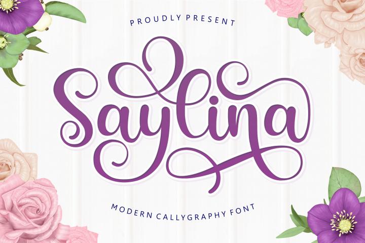 Saylina Script