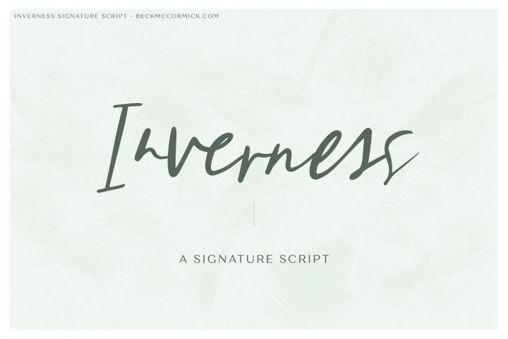 Inverness Signature Script