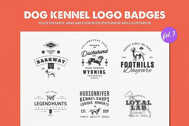 Dog Kennel Logo Badges Vol.3 / Dog Logo / Dog Shapes