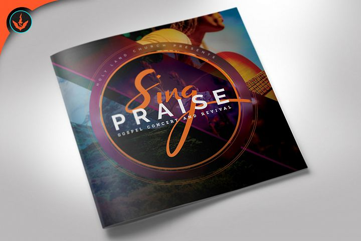 Sing Praise Gospel Concert Program 4 Pages