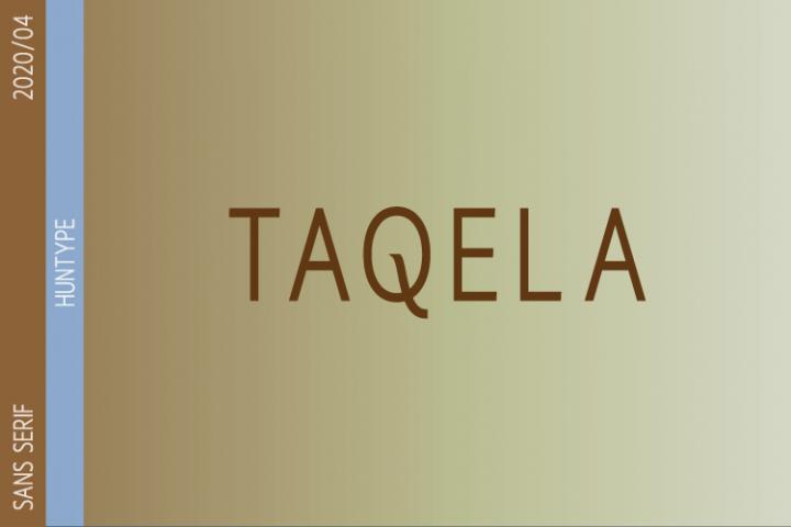 Taqela Sans Serif