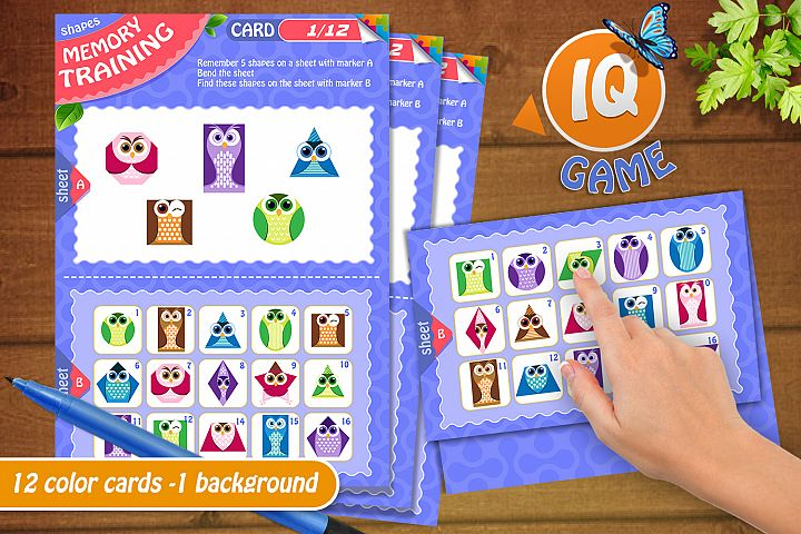 memory game for kids and adults