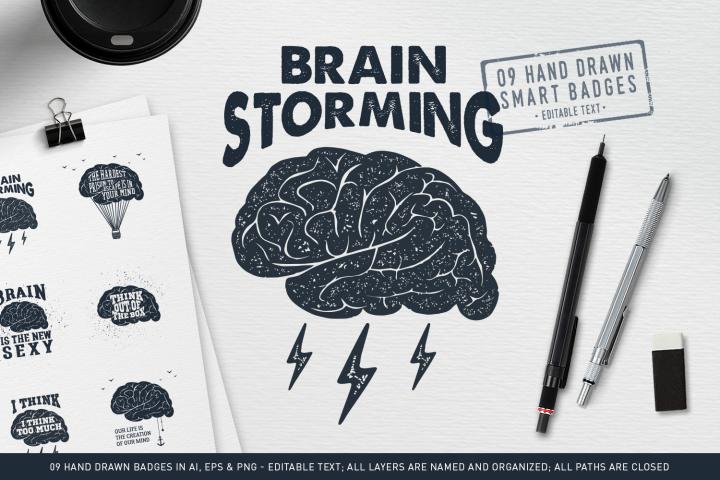 BrainStorming. 09 Smart Badges
