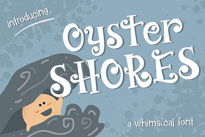 Oyster Shores Font