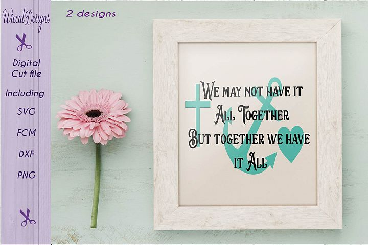 Family quote svg, Svg Quote, Inspirational svg, positive quote svg, decor svg, Hope svg,