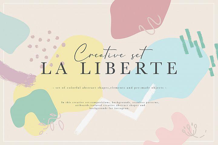 La Liberte Creative Set