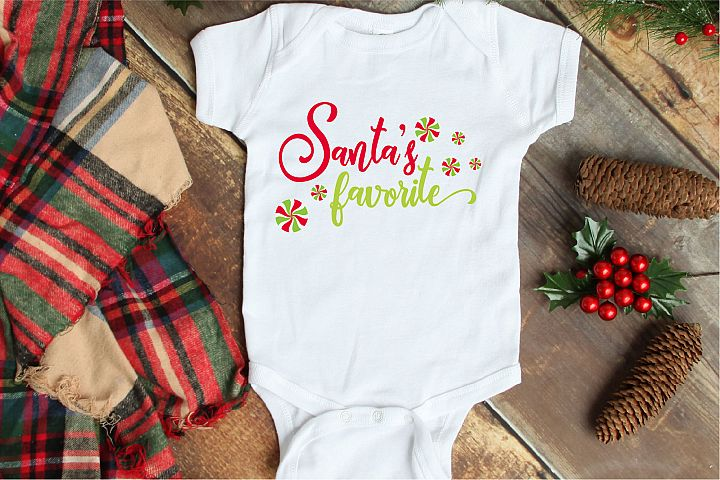 Christmas SVG, Santas Favorite Sublimation, Santa Claus