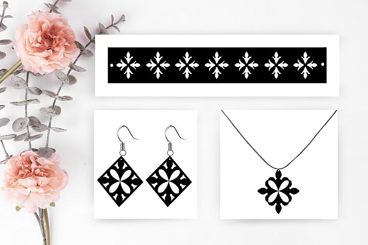 Earrings SVG,bracelet svg earrings cut file,necklace svg