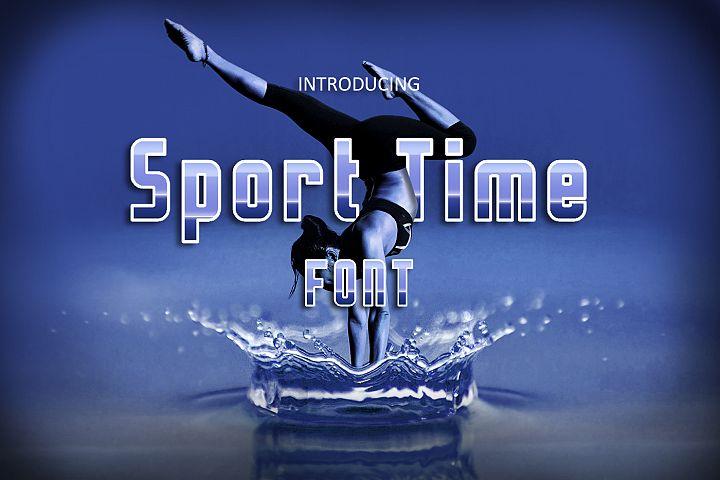 Sport Time Font