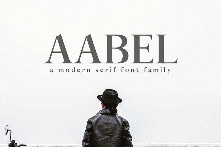 Aable A Modern Serif Font Family