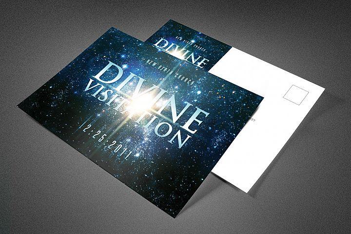 Divine Visitation Church Postcard