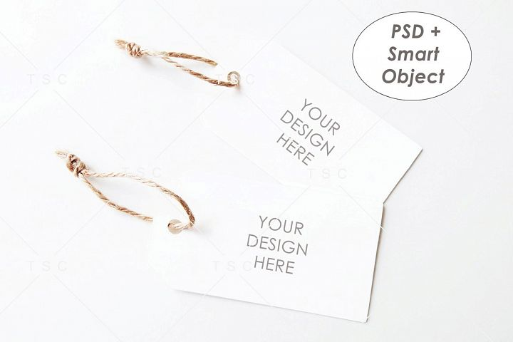 Tag Mockup / Gift Tag / Thank You Tag / Product Tag