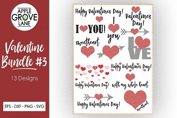 Valentine SVG Bundle - 25designs - Svg Eps Dxf Png