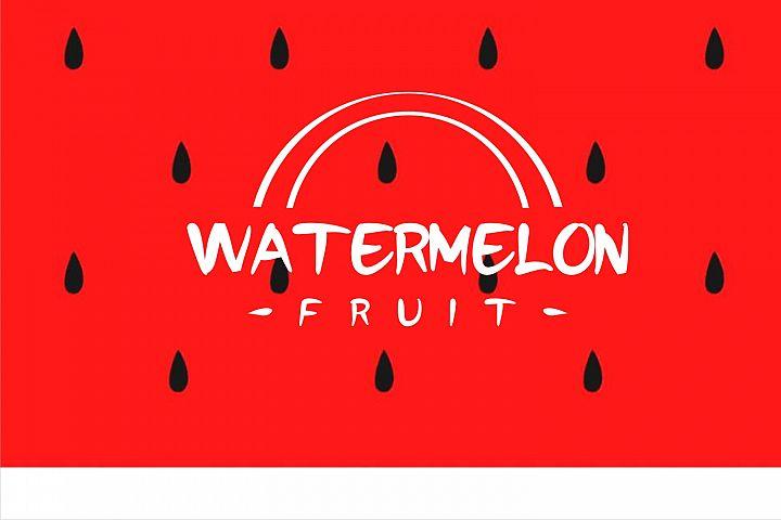 watermelonfont
