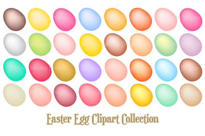 Easter Clipart Designs
