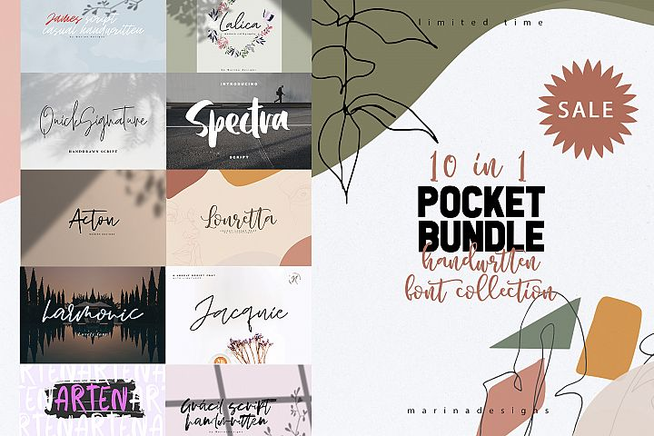 POCKET BUNDLE 10 IN 1 SUPER SALE