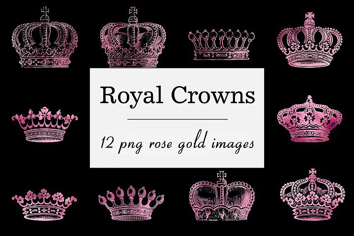 Rose Crown Clipart