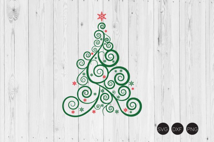 Christmas Tree SVG, Christmas SVG