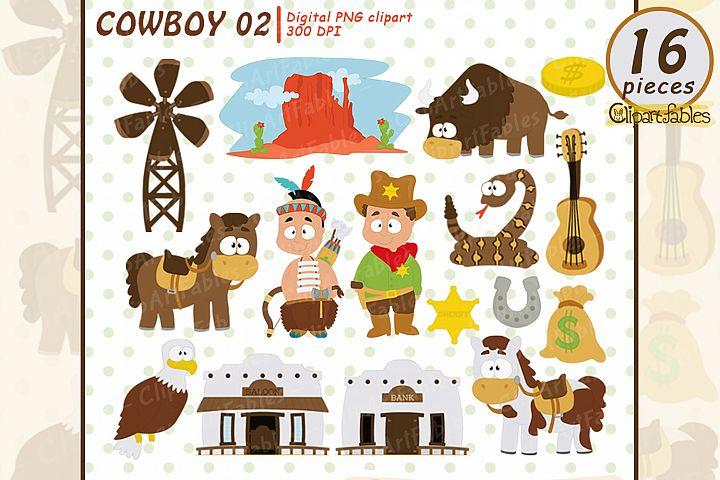 WESTERN clip art, Cowboy clipart, Sheriff clipart,