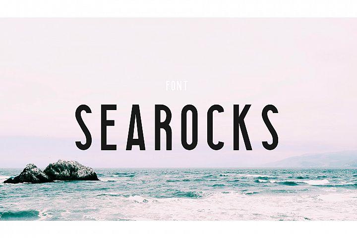Searocks | A clean condensed font