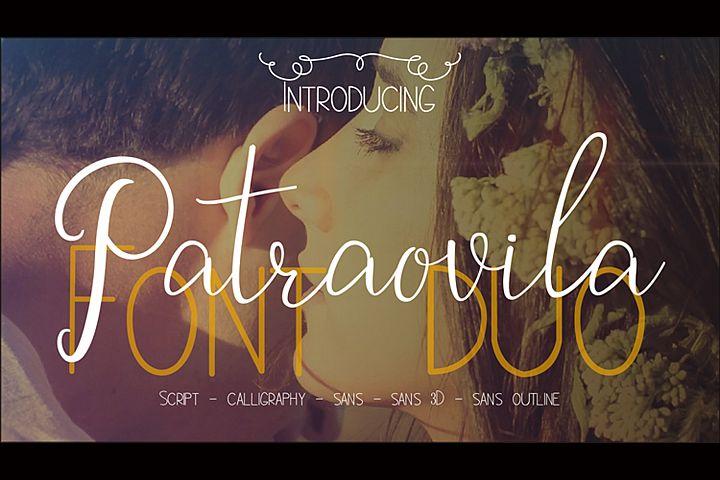 Patraovila font Duo