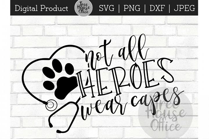 Vet Tech Heroes, Veterinarian Hero, Pet Love SVG JPEG PNG