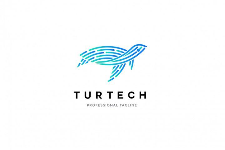 Animal Logo - Turtle Logo