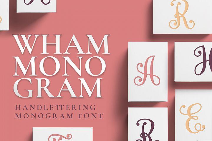 Wham Monogram