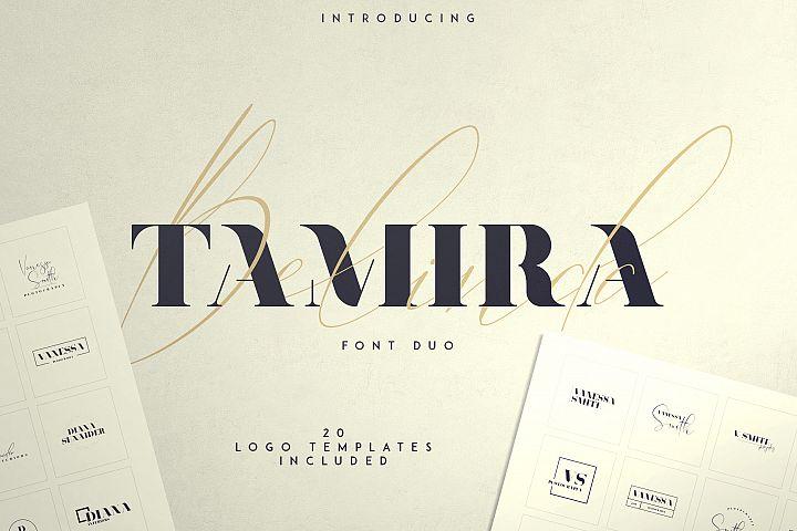 Belinda Tamira - Font duo 20 Logos