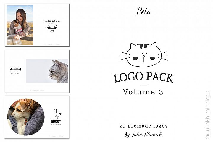 Logo Pack Vol.3. Pets