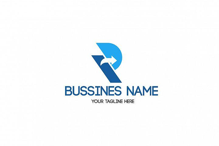 R letter bussines logo