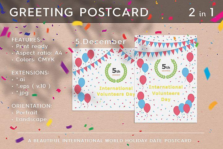International Volunteers Day - December 5th