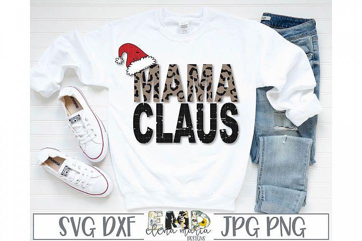 Mama Claus SVG File
