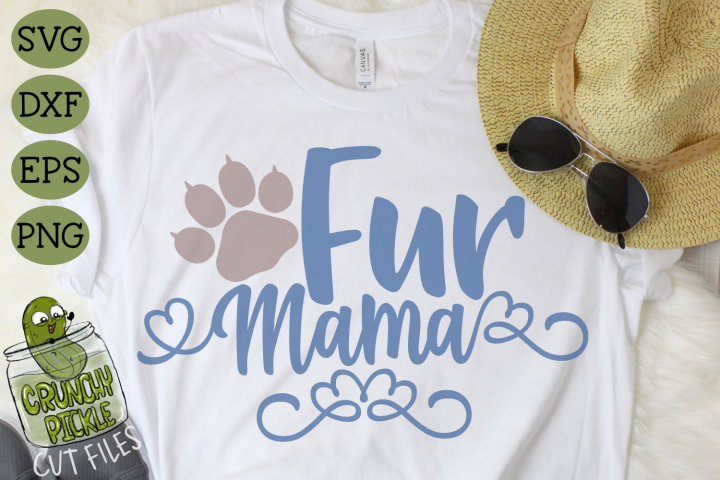 Fur Mama Cat SVG