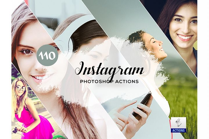 110 Instagram Photoshop Actions