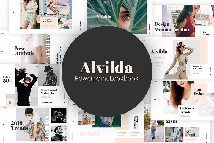 Alvilda Powerpoint Lookbook