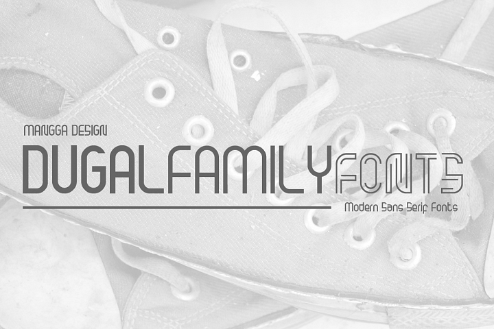 Dugal Family Fonts