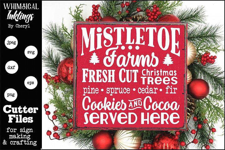 Mistletoe Farms-Christmas Trees SVG